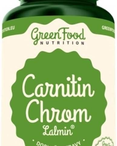 GreenFood Carnitin Chróm Lalmin 60 kapsúl