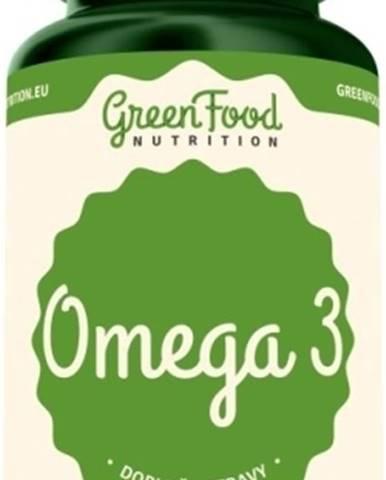 GreenFood Omega 3 120 kapsúl