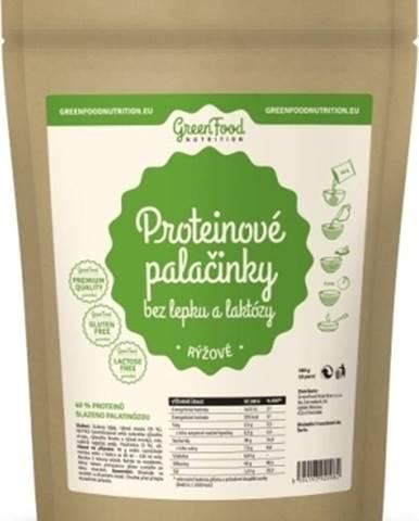 GreenFood Proteínové palacinky bez lepku a laktózy ryžové 500 g