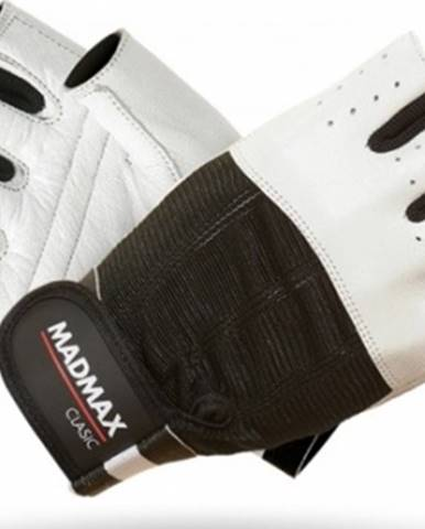 Madmax Rukavice Clasic MFG248 biele variant: L