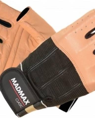 Madmax Rukavice Clasic MFG248 hnedé variant: L