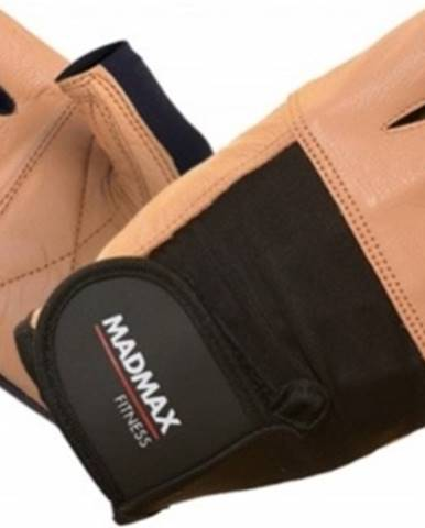 Madmax Rukavice Fitness MFG444 hnedé variant: L