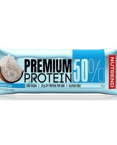 Nutrend Premium Protein 50 Bar 50 g variant: čokoláda