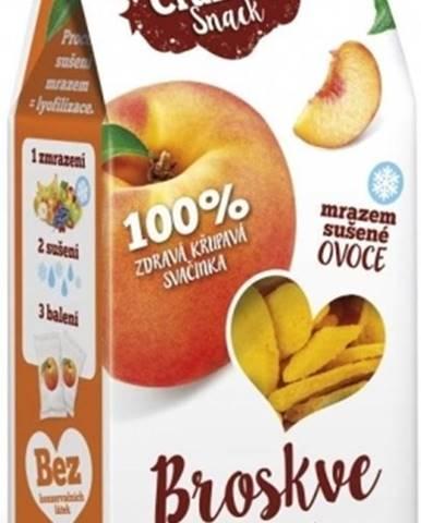 Royal Pharma Crunchy Snack mrazom sušené Broskyne 20 g