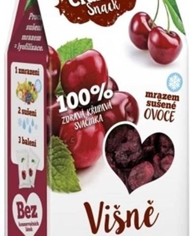 Royal Pharma Crunchy Snack mrazom sušené Višne 30 g