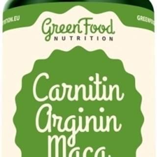 GreenFood Carnitin Arginín Maca vegan 90 kapsúl