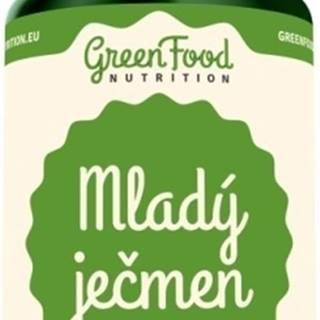 GreenFood Mladý jačmeň vegan 120 kapsúl