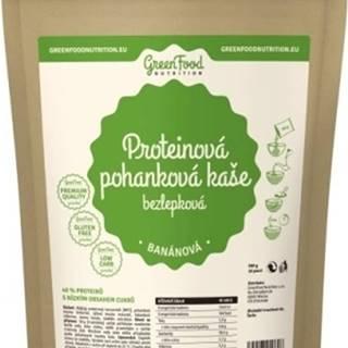 GreenFood Proteínová pohánková kaša bezlepková 500 g variant: banán