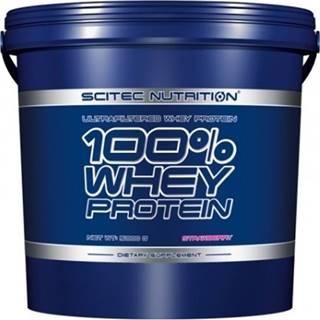 Scitec Nutrition Scitec 100% Whey Protein 5000 g variant: čokoláda