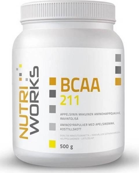 NutriWorks NutriWorks BCAA 2:1:1 500 g variant: pomaranč