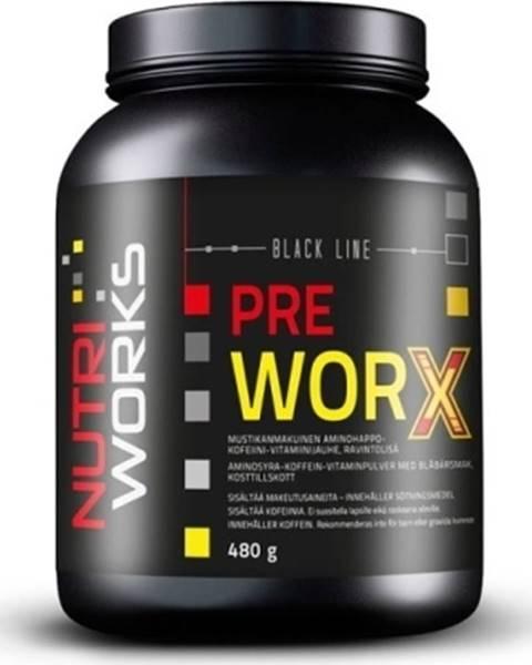 NutriWorks NutriWorks Pre Worx 480 g variant: čučoriedka