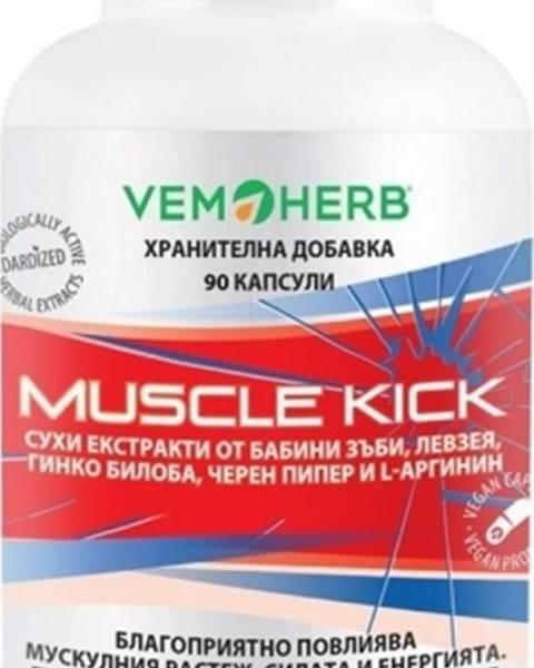 Vemoherb Vemoherb Muscle Kick 90 kapsúl
