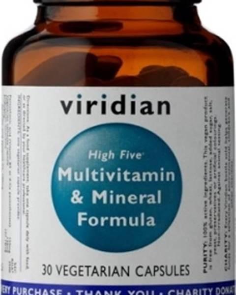 Viridian Viridian High Five Multivitamín & Mineral Formula 30 kapsúl