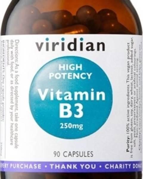 Viridian Viridian High Potency Vitamín B3 250 mg 90 kapsúl