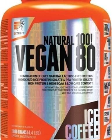 Extrifit Vegan 80 2000 g variant: čokoláda