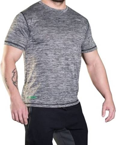 MadMax Tričko s krátkym rukávom MSW308 sivé variant: L