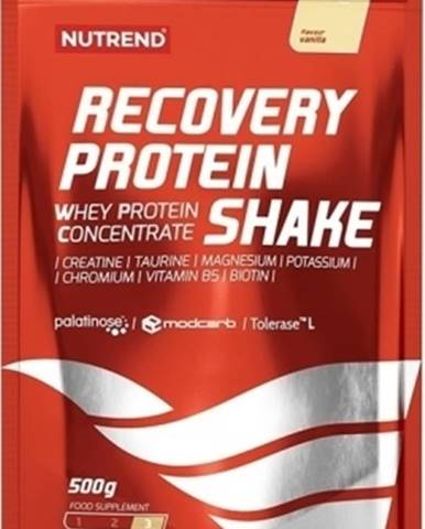 Nutrend Recovery Protein Shake 500 g variant: jahoda