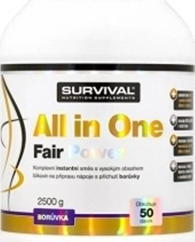 Survival All in One Fair Power 2500 g variant: čučoriedka