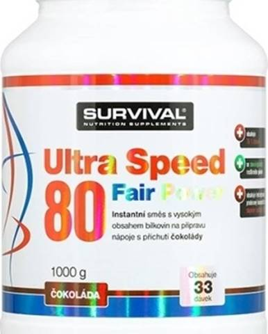 Survival Ultra Speed 80 1000 g variant: čučoriedka