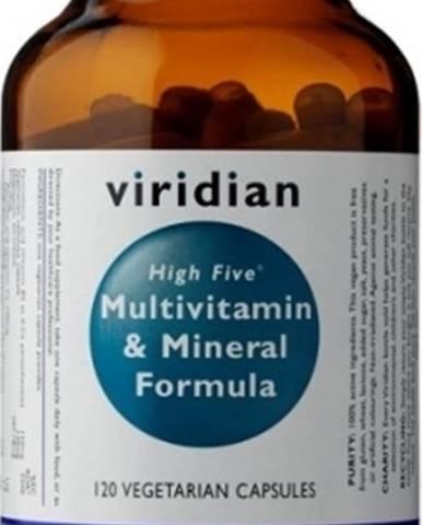 Viridian High Five Multivitamín & Mineral Formula 120 kapsúl