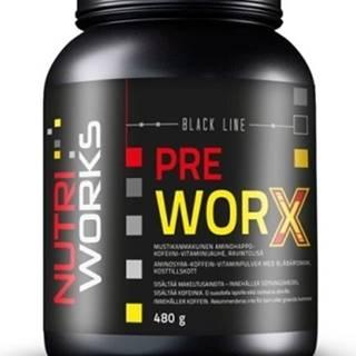 NutriWorks Pre Worx 480 g variant: čučoriedka