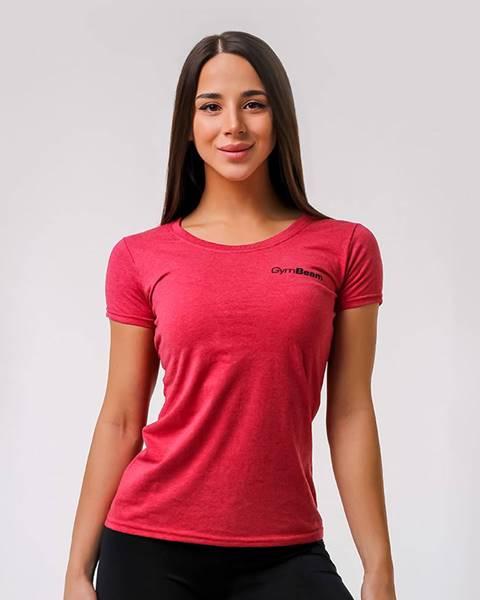 GymBeam GymBeam Dámske tričko Basic Vintage Red  XS