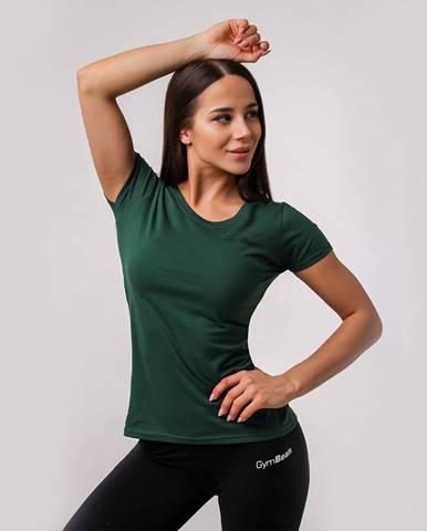 GymBeam Dámske tričko Basic Green  XS