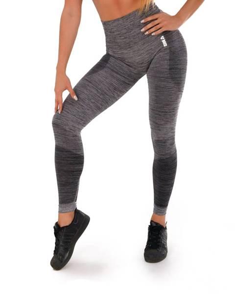 Boco Wear Dámske legíny Boco Wear Grey Melange Push Up šedá - XS/S