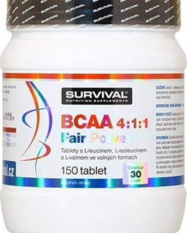 Survival BCAA 4:1:1 Fair Power 150 tabliet