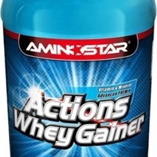 Aminostar Whey Gainer Actions 1000 g variant: čokoláda