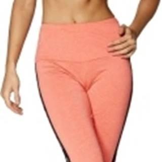 Gym Glamour Legíny vysoký pás oranžové variant: L
