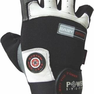 Power System Fitness rukavice Easy Grip biele variant: L