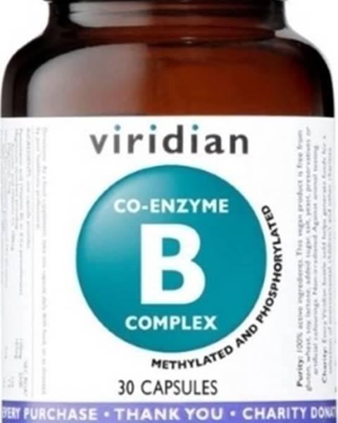 Viridian Viridian Co-Enzyme B Complex 30 kapsúl