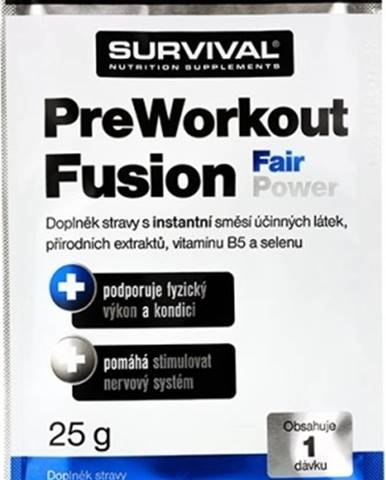 Survival PreWorkout Fusion Fair Power 25 g variant: mojito