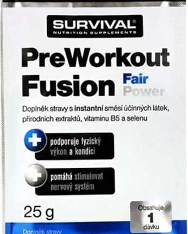 Survival PreWorkout Fusion Fair Power 25 g variant: mojito
