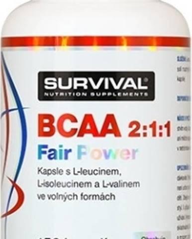 Survival BCAA 2:1:1 Fair Power 150 kapsúl