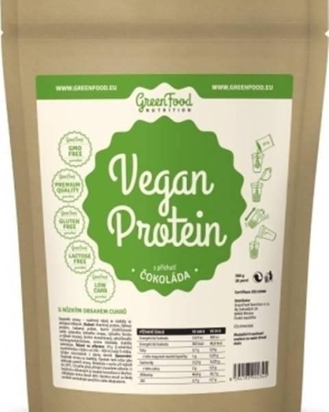 GreenFood GreenFood Vegan Protein 750 g variant: čokoláda