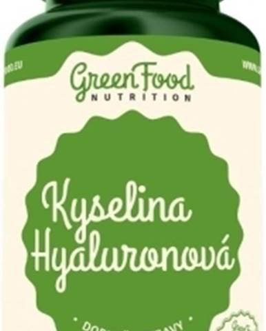 GreenFood Kyselina hyalurónová 60 kapsúl