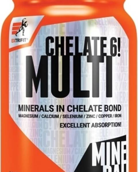 Extrifit Chelate 6! Multimineral 90 kapsúl