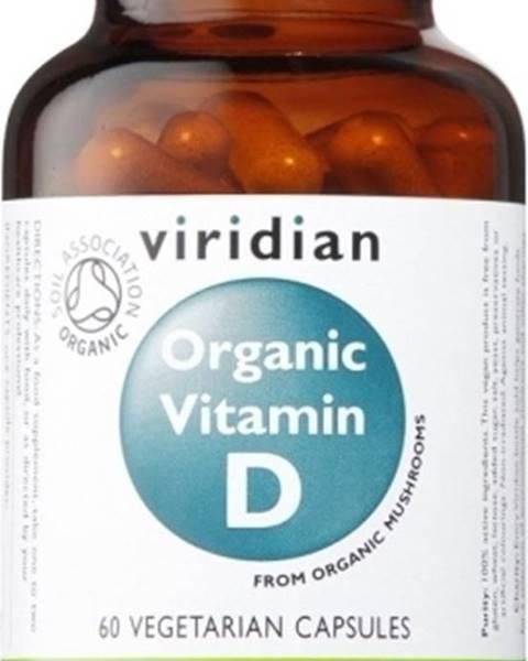 Viridian Viridian Organic Vitamín D 60 kapsúl