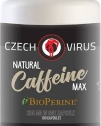 Czech Virus natural Caffeine Max 100 kapsúl