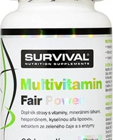 Survival Multivitamín Fair Power 60 kapsúl