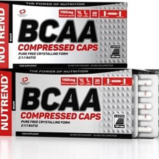 Nutrend BCAA Compressed Caps 120 kapsúl