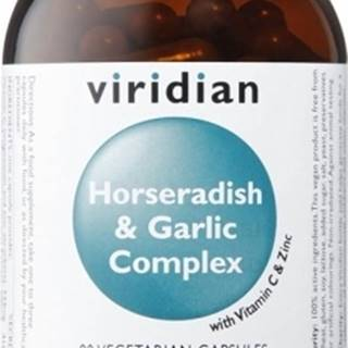 Viridian Horseradish&Garlic Complex 90 kapsúl