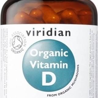 Viridian Organic Vitamín D 60 kapsúl