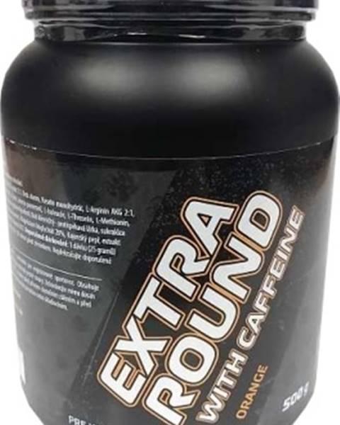 Bear Foot Bear Foot Extra Round s kofeínom 500 g variant: pomaranč