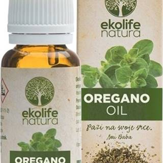 Ekolife Natura Oil of Origanum (Esenciálny olej z Oregano) 10 ml