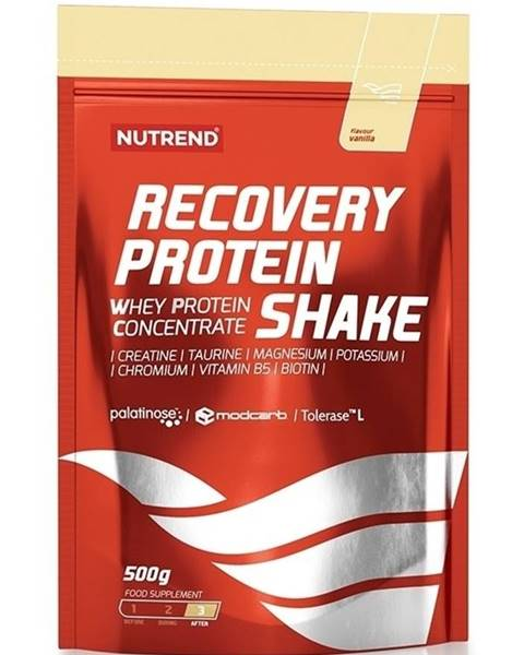 Nutrend Recovery Protein Shake - Nutrend 500 g Jahoda