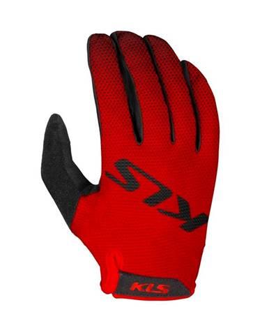 Cyklo rukavice Kellys Plasma Red - XS