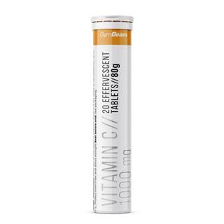 GymBeam Vitamín C 1000 mg 20 tab. pomaranč